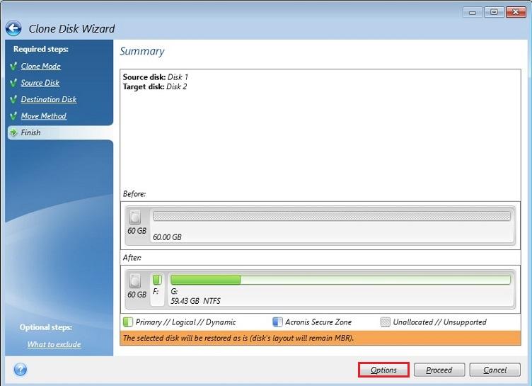 انتقال ویندوز از هارد قدیمی به دیسک SSD با Clone کردن دیسک
