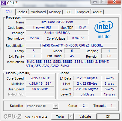 مشاهده اطلاعات کامل لپ تاپ