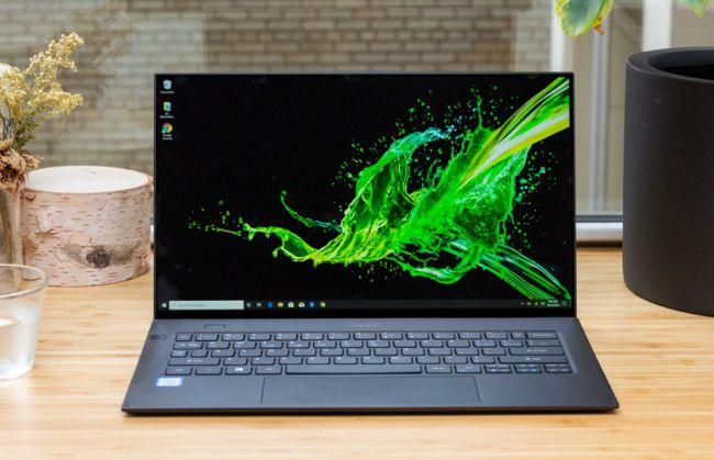 بهترین لپ تاپ های 2020 - لپ تاپ ایسر سوئیفت Acer Swift 7