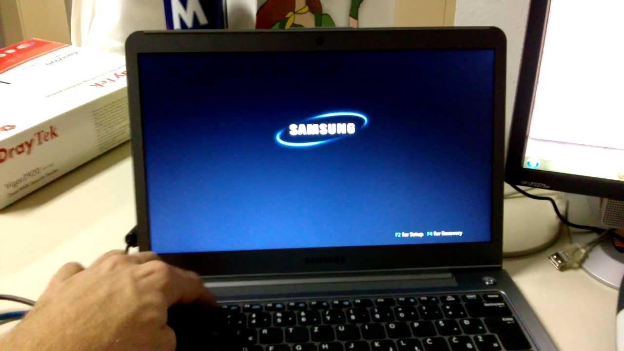 نحوه ورود به بایوس لپ تاپ سامسونگ
