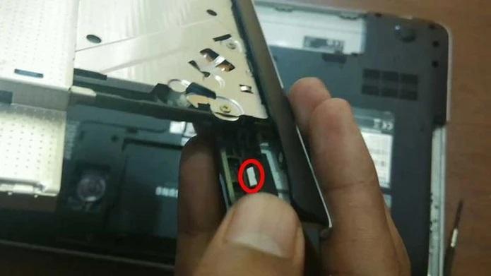 نحوه قرار دادن SSD به جای DVD رایتر لپ تاپ