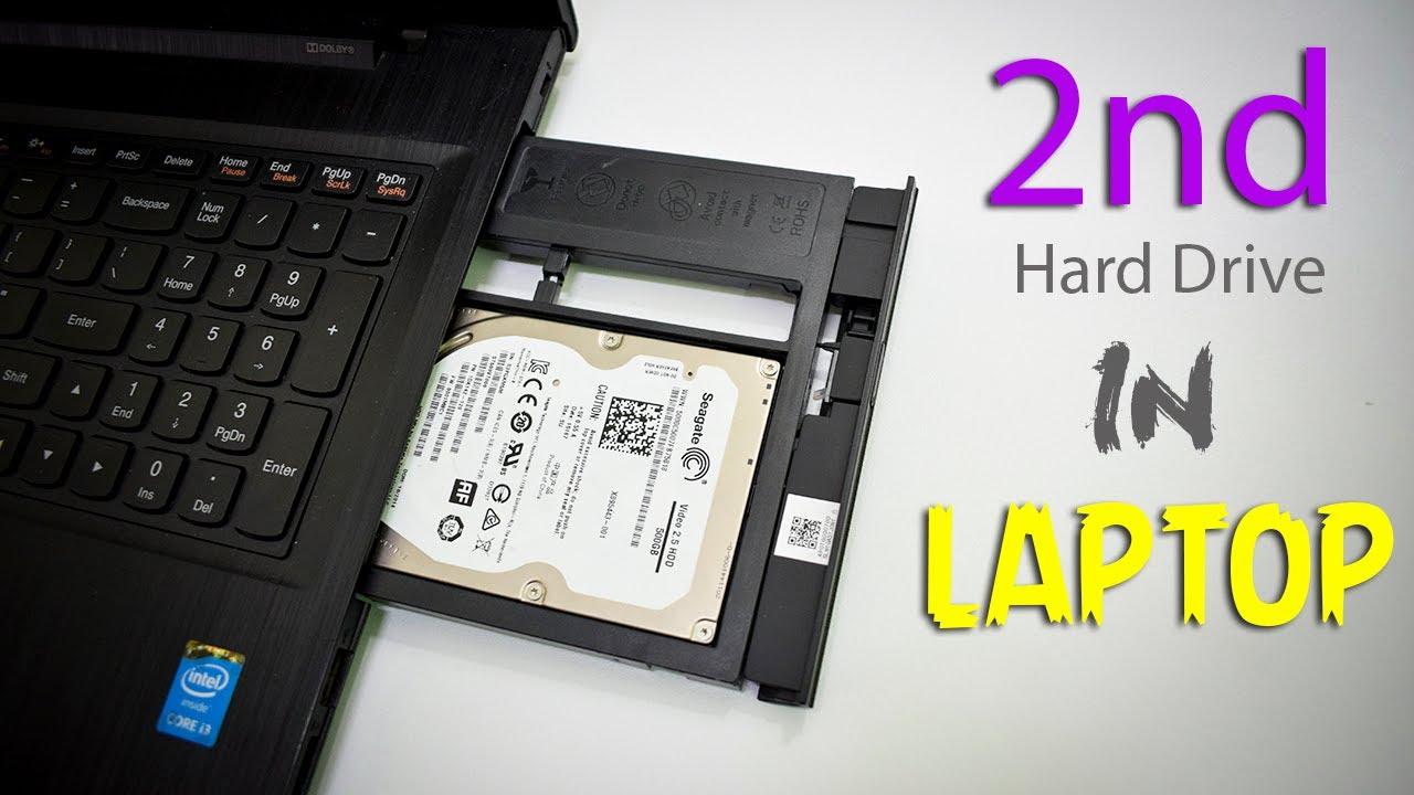 چگونه هارد SSD را جایگزین DVD رایتر لپ تاپ کنیم