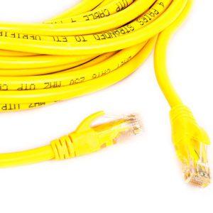 کابل شبکه CAT5E دی نت به طول ۳ متر