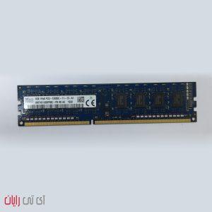 رم کامپیوتر اسکای هاینیکس ۴ گیگابایت SK Hynix 4GB 1Rx8 PC3-12800U