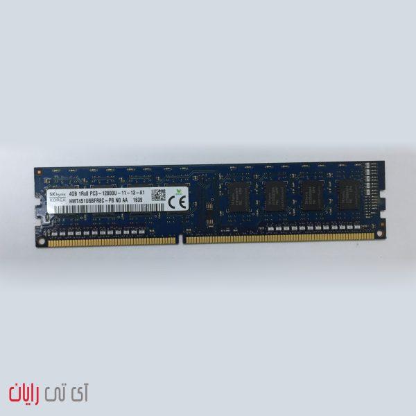 رم کامپیوتر اسکای هاینیکس 4 گیگابایت SK Hynix 4GB 1Rx8 PC3-12800U