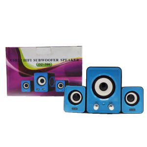 اسپیکر سه تیکه DJ-500 – اسپیکر سه تیکه دسکتاپ و رومیزی
