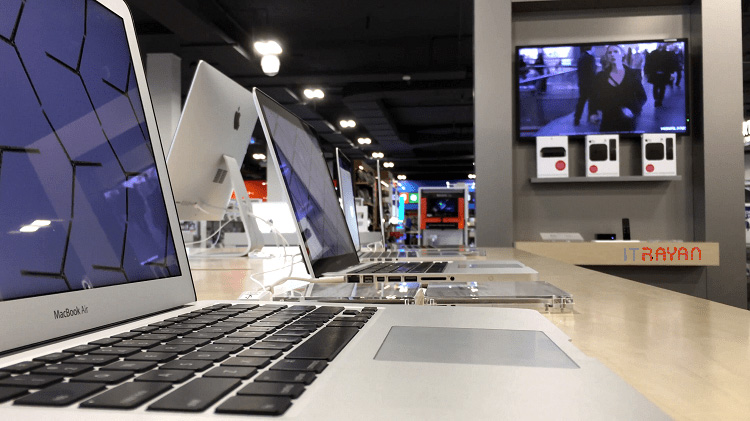 لپ تاپ های اپل APPLE