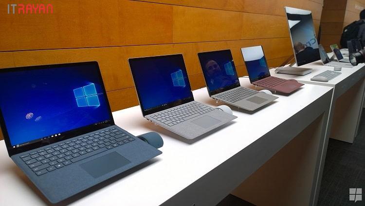 لپ تاپ های مایکروسافت Microsoft