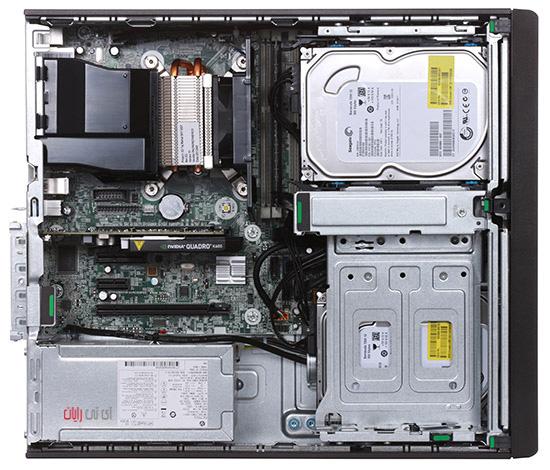 کیس استوک ورک استیشن HP Workstation Z230 پردازنده i5 نسل چهارم